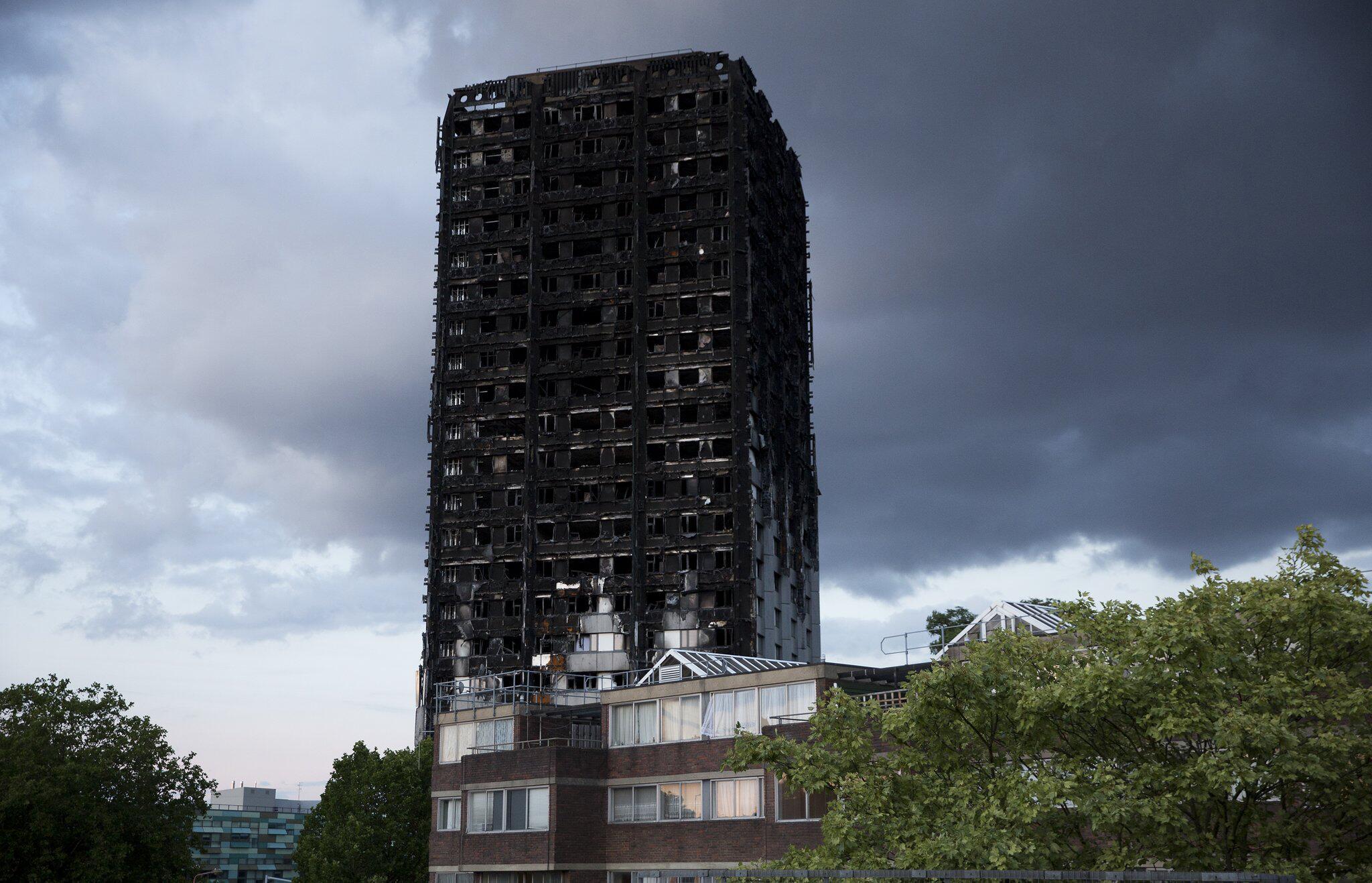 Bild zu Nach Brand im Grenfell-Tower