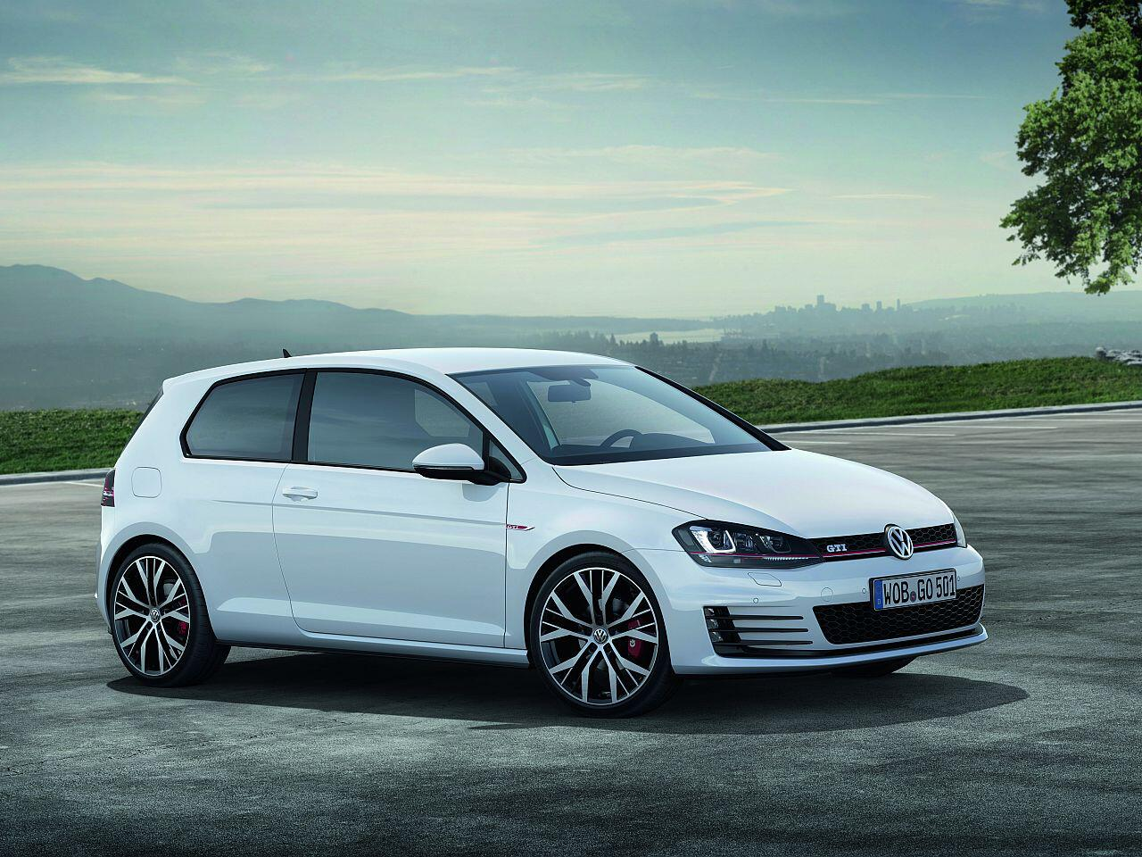 Bild zu 14. Platz: VW Golf 7 GTI