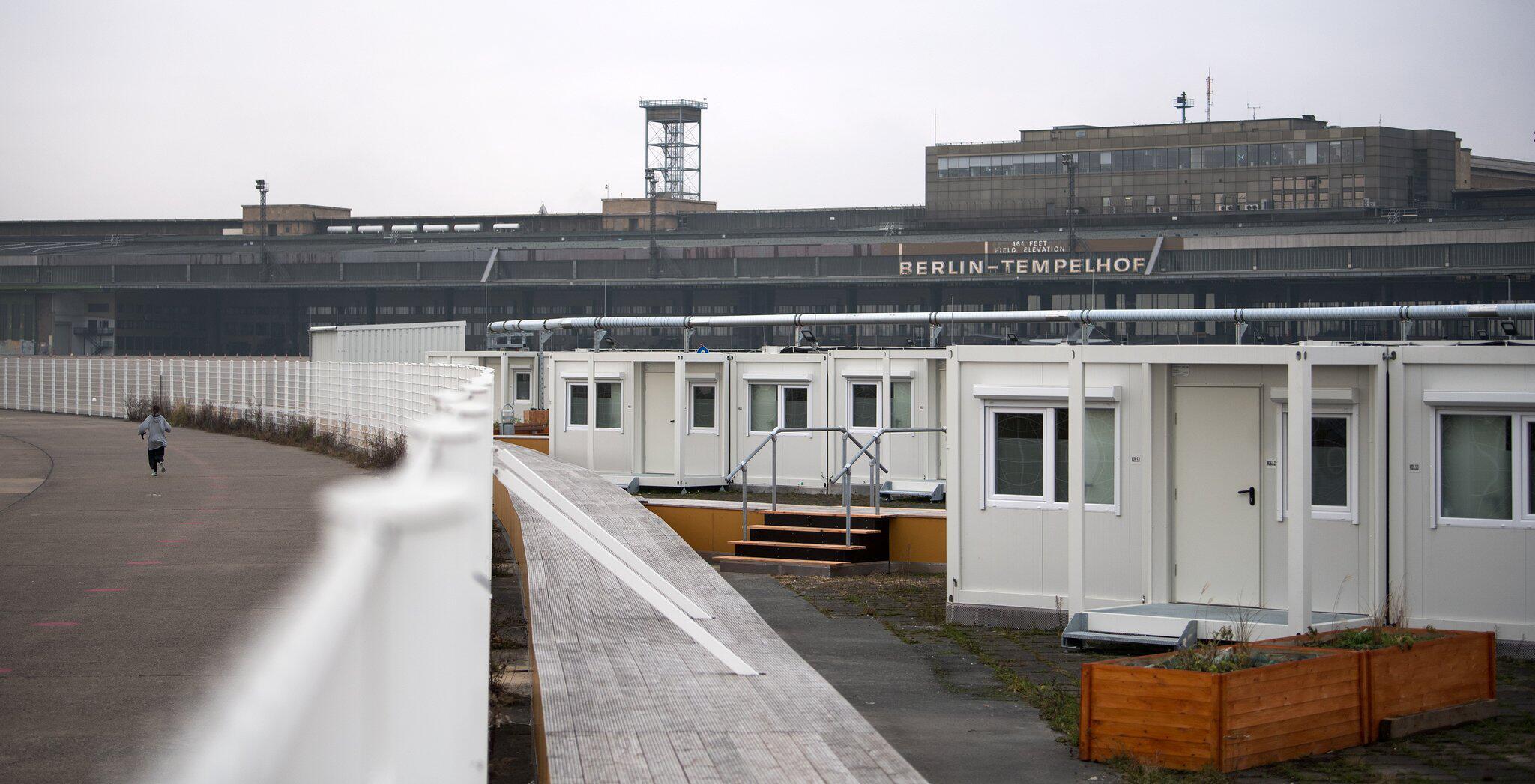 Bild zu Tempohomes auf dem Tempelhofer Feld in Berlin
