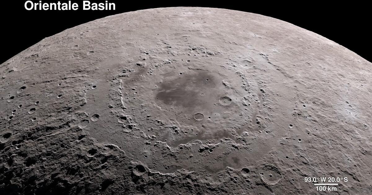 Mond in 4K: NASA zeigt spektakuläre Bilder   WEB.DE