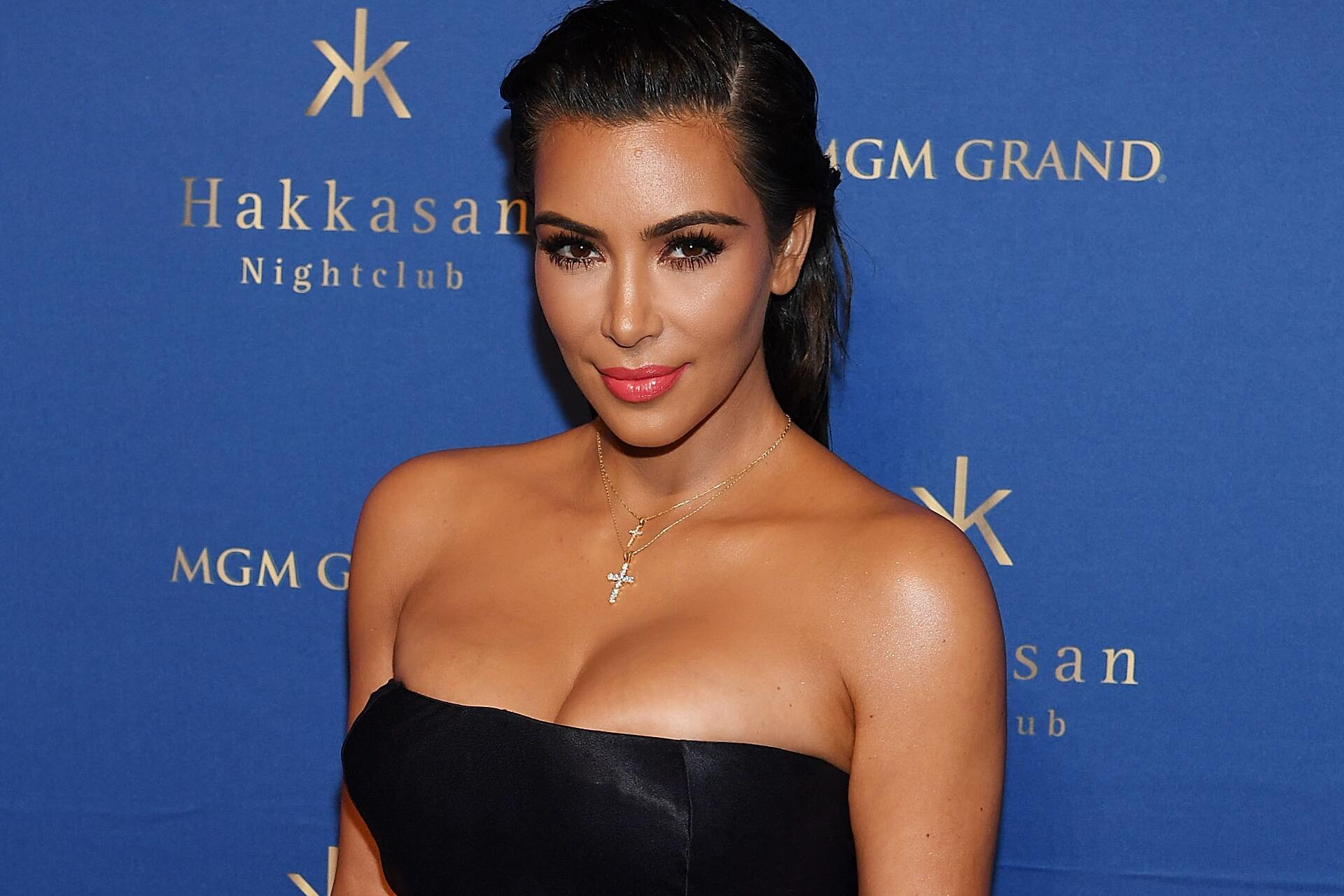 Bild zu Kim Kardashian, Las Vegas, roter Teppich