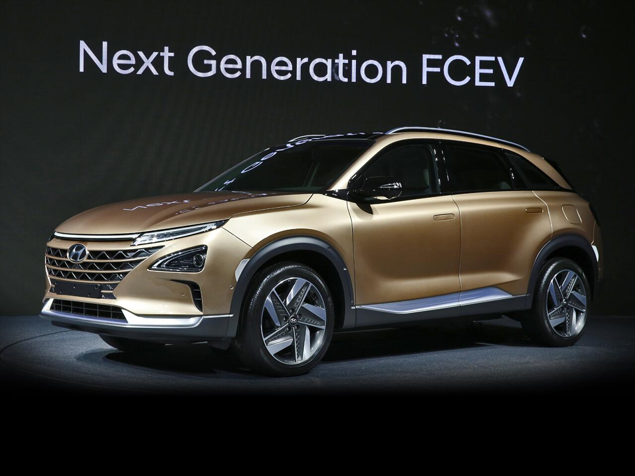 Bild zu Hyundai Fuel Cell SUV