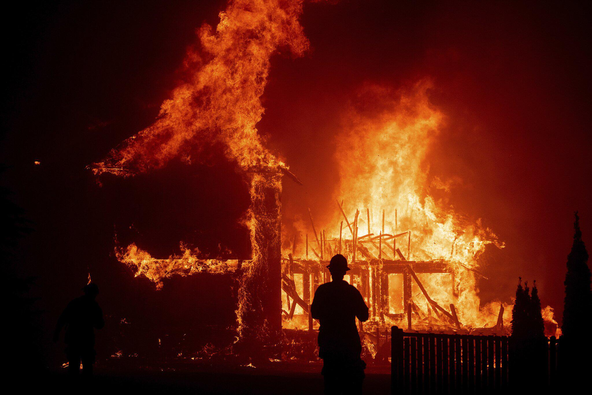 Bild zu Waldbrand in den USA