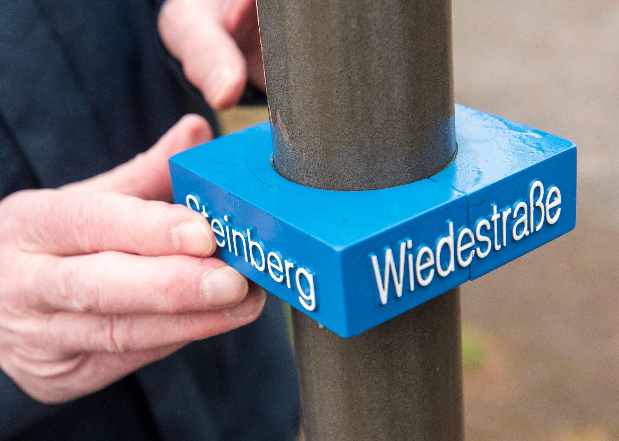 Bild zu Road signs for the visually impaired
