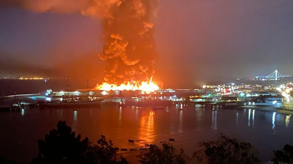 Großbrand San Francisco