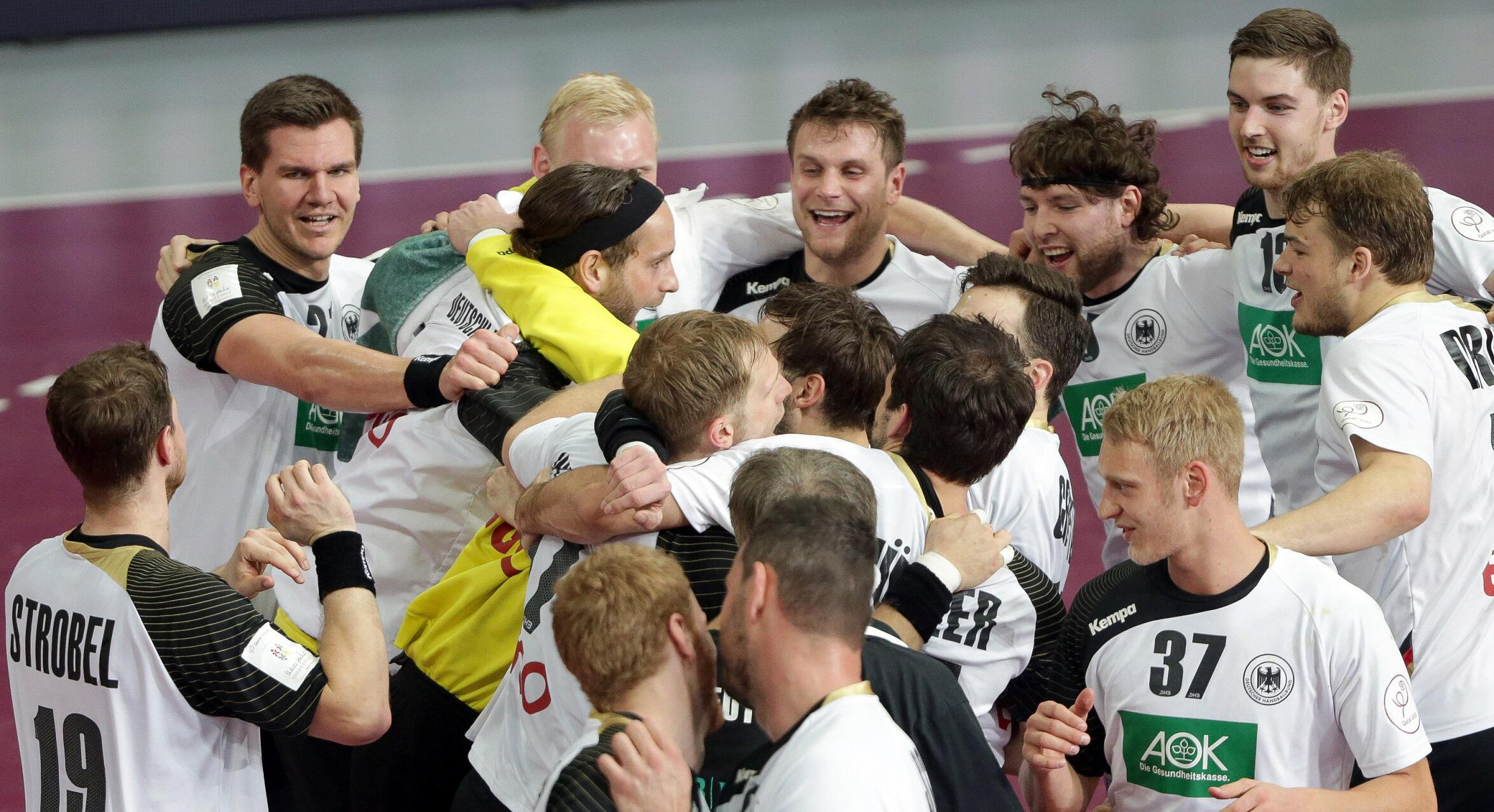 Bild zu Handball WM 2015 Deutsche Nationalmannschaft