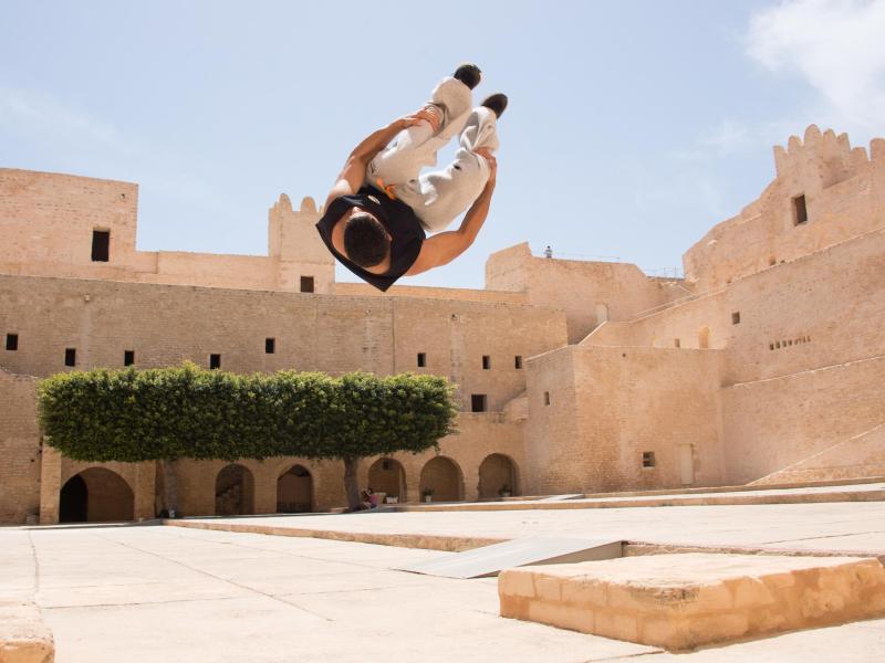 Bild zu Parkour in der Festung von Monastir