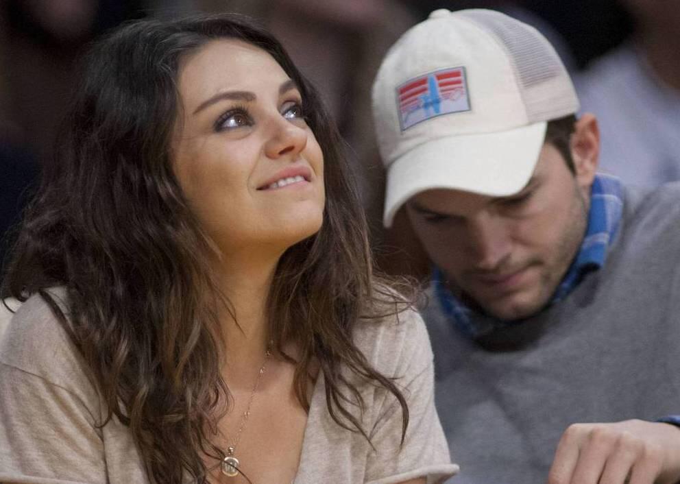 Bild zu Mila Kunis über ihre große Liebe Ashton Kutcher