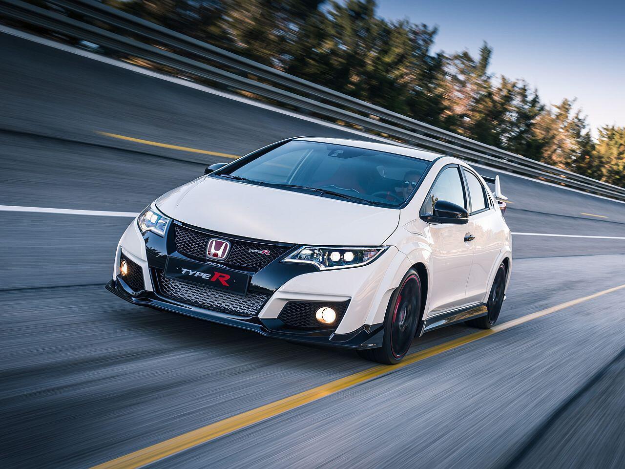 Bild zu 4. Platz: Honda Civic Type R