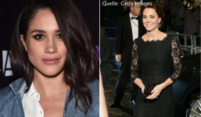 Bild zu Kameraaufnahmen: Es gibt einen Unterschied zwischen Meghan Markle und Herzogin Kate