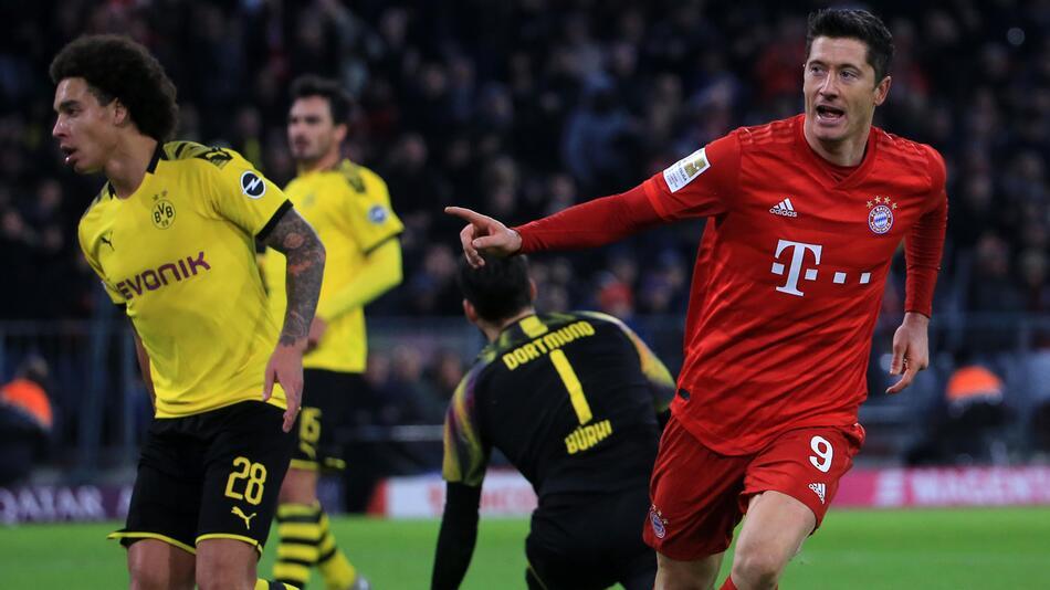 FC Bayern, Borussia Dortmund, Robert Lewandowski, Axel Witsel, Mats Hummels, DFL