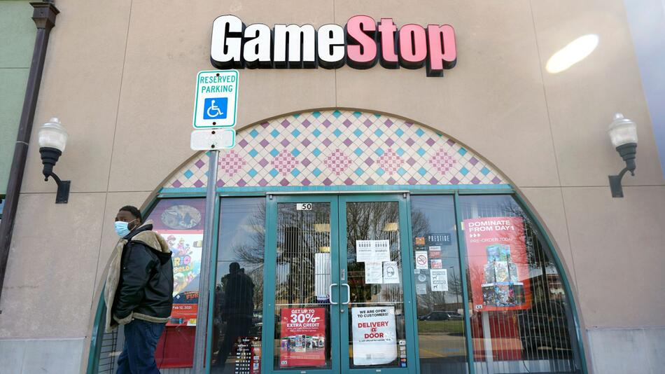 Aktien-Hype um Gamestop