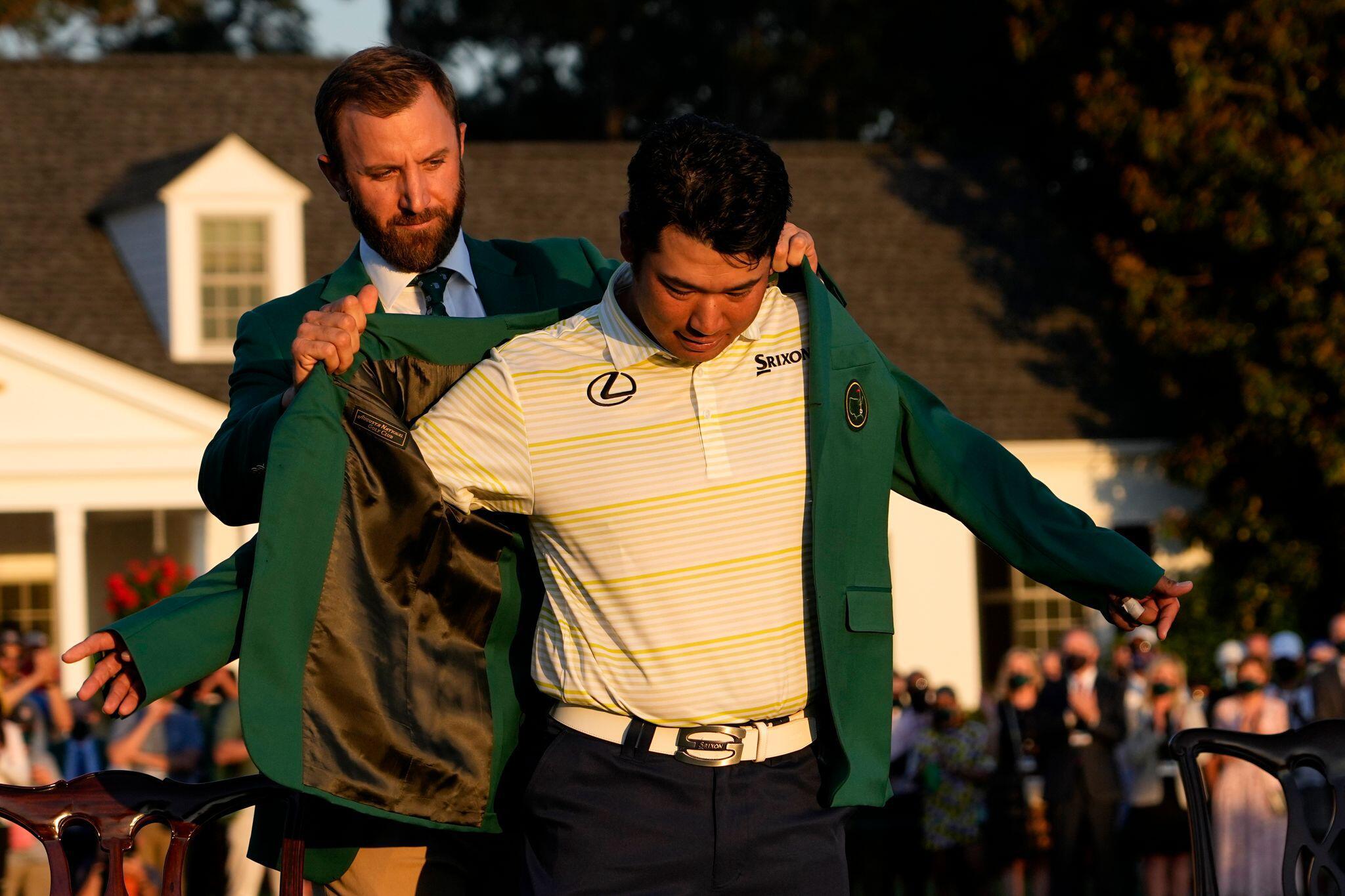 Bild zu Golf: Masters-Turnier