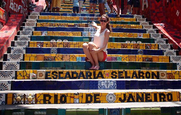 Bild zu Escadaria Selarón