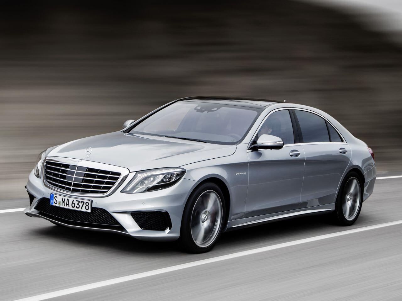 Bild zu Mercedes S63 AMG 4MATIC lang