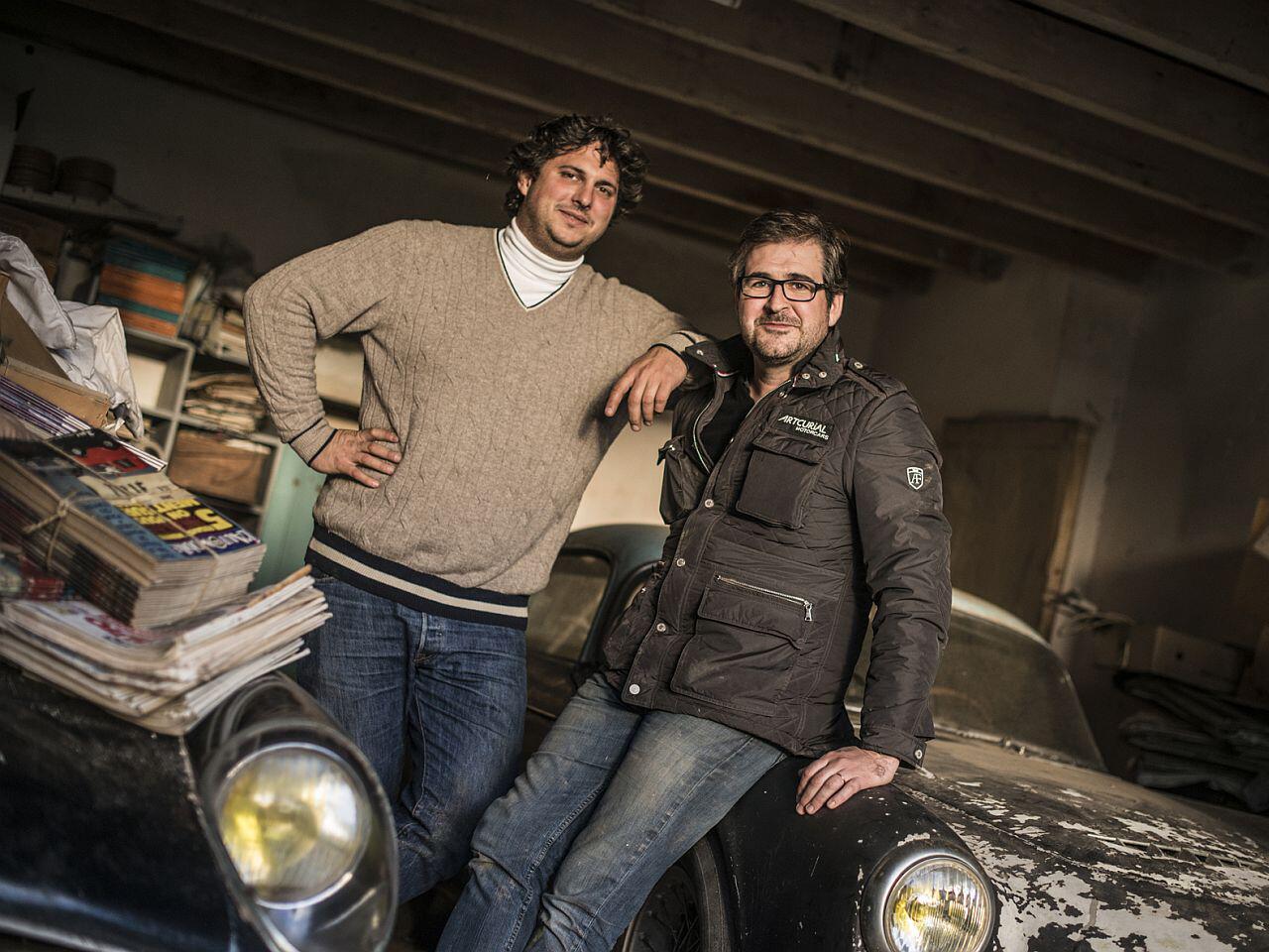 Bild zu Matthieu Lamoure und Pierre Novikoff