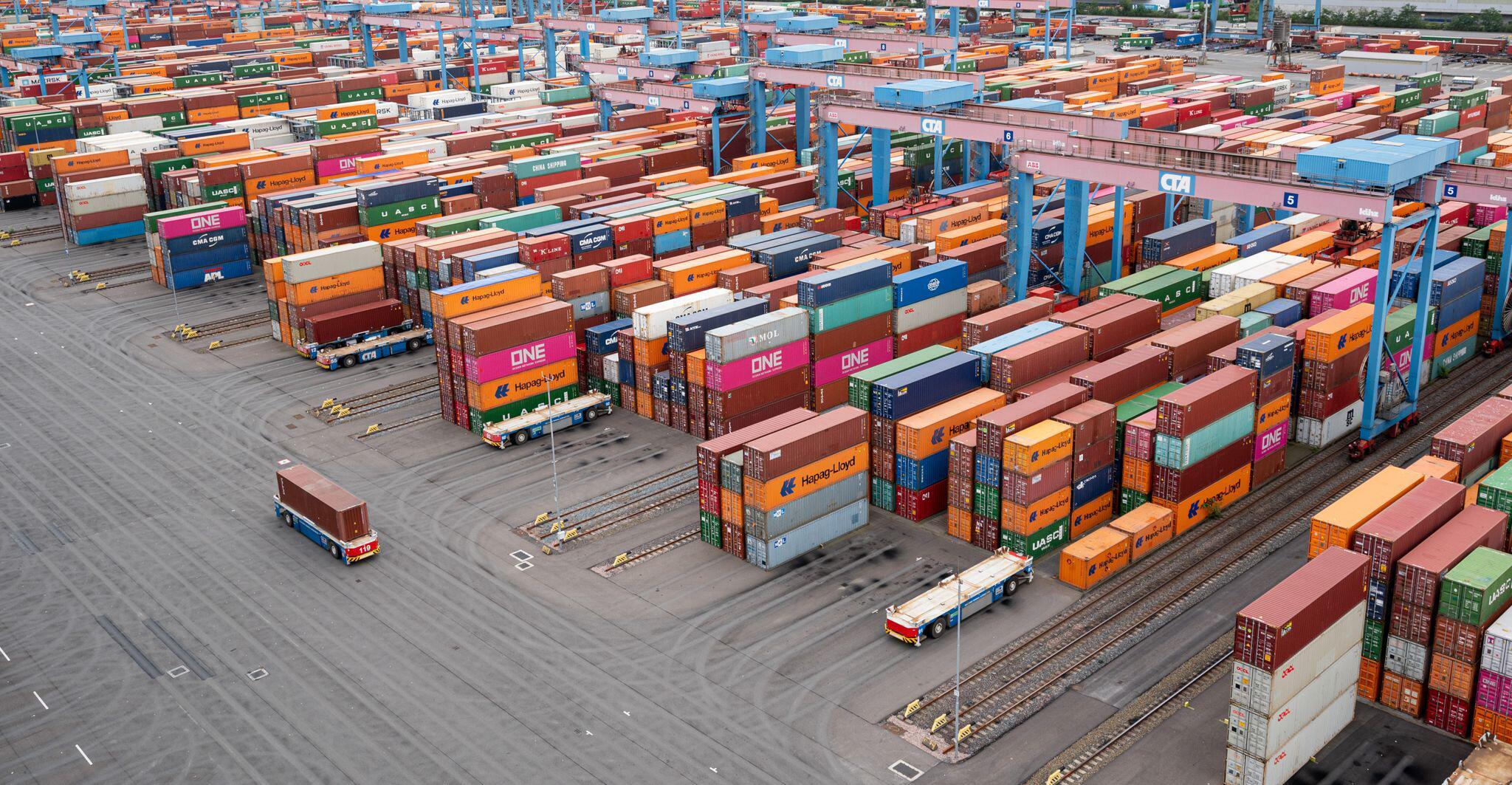 Bild zu Container Terminal Altenwerder