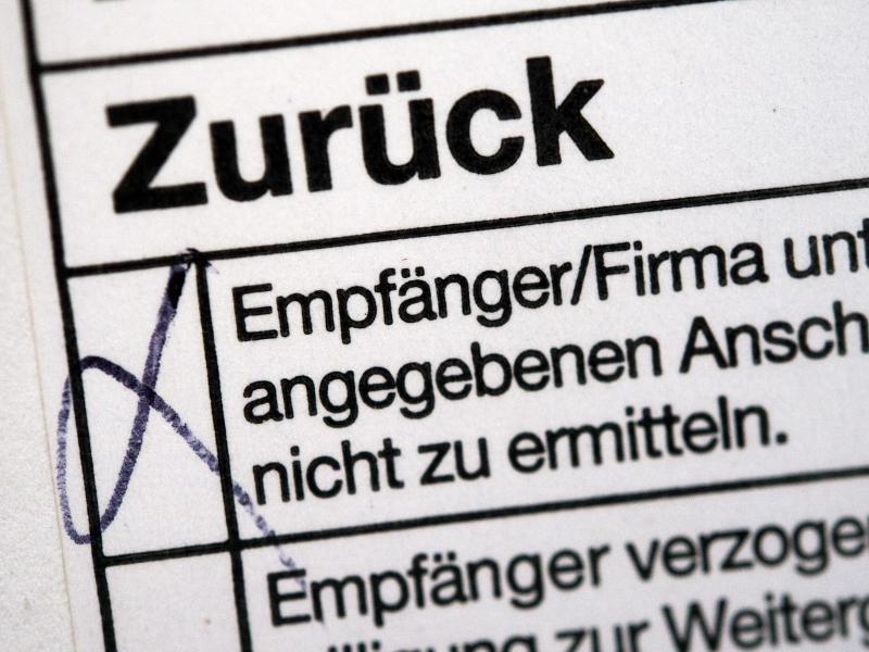 Briefe Ohne Absender Verschicken : Wann dienstleister erneut porto übernehmen web