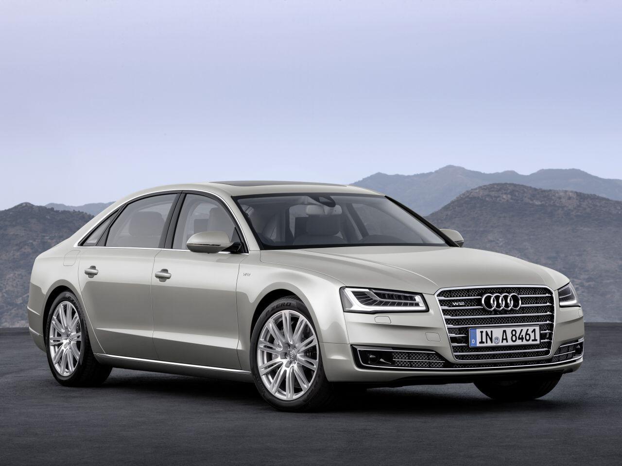 Bild zu Audi A8L W12