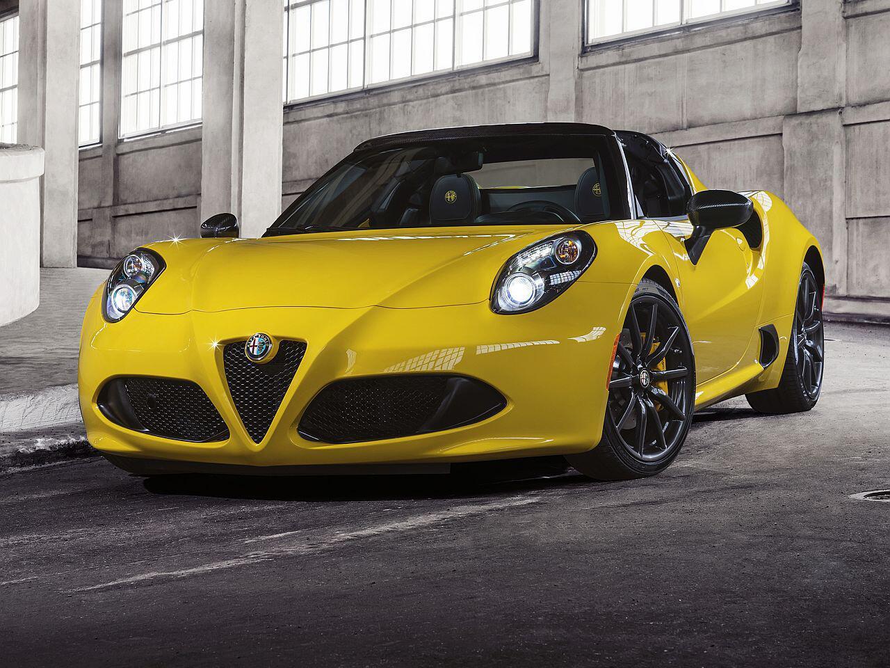 Bild zu Alfa Romeo 4c Coupé