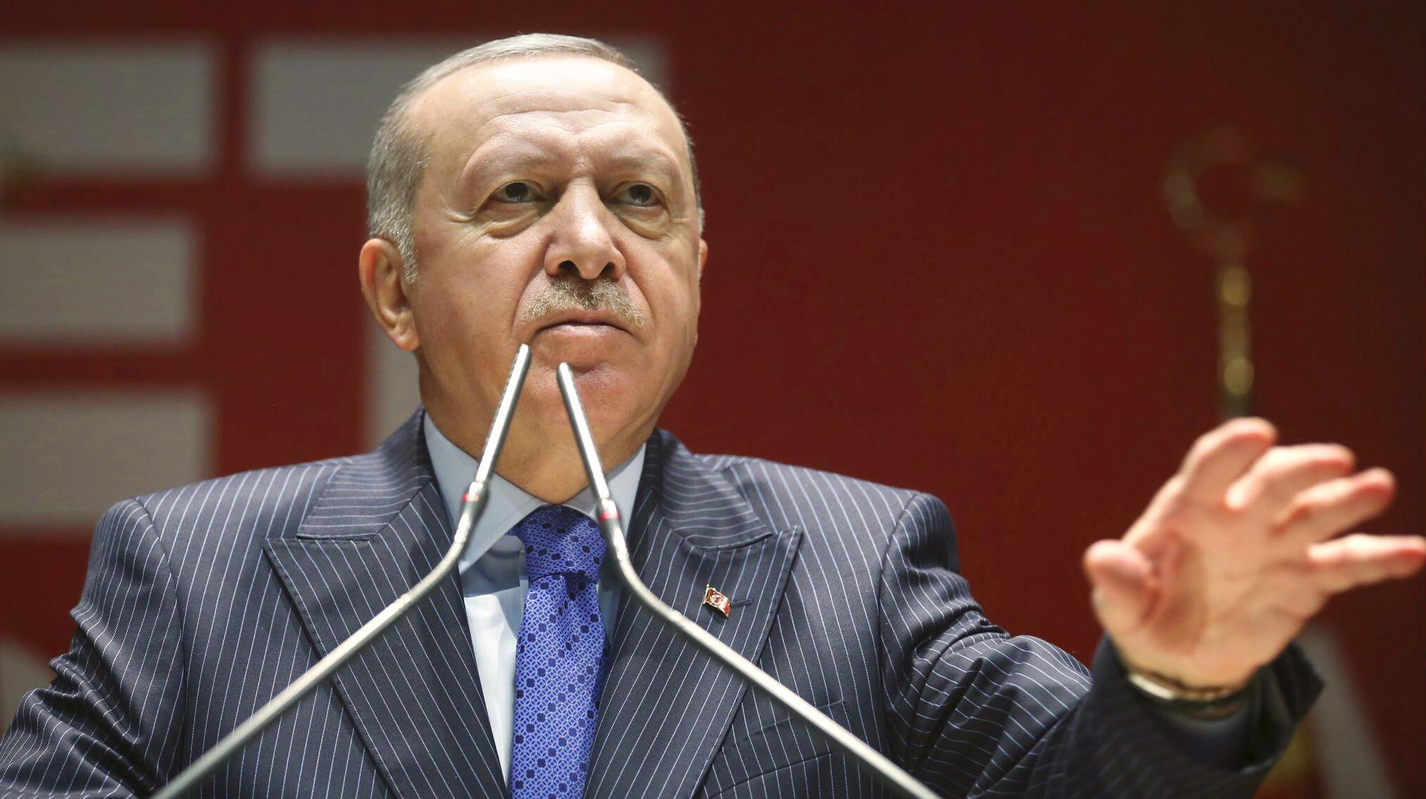 Bild zu Konflikt in Syrien - Erdogan