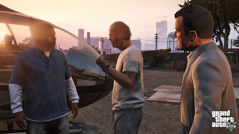 Bild zu GTA 5: Franklin, Trevor und Michael