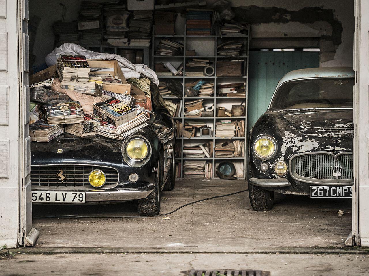 Bild zu Ferrari und Maserati