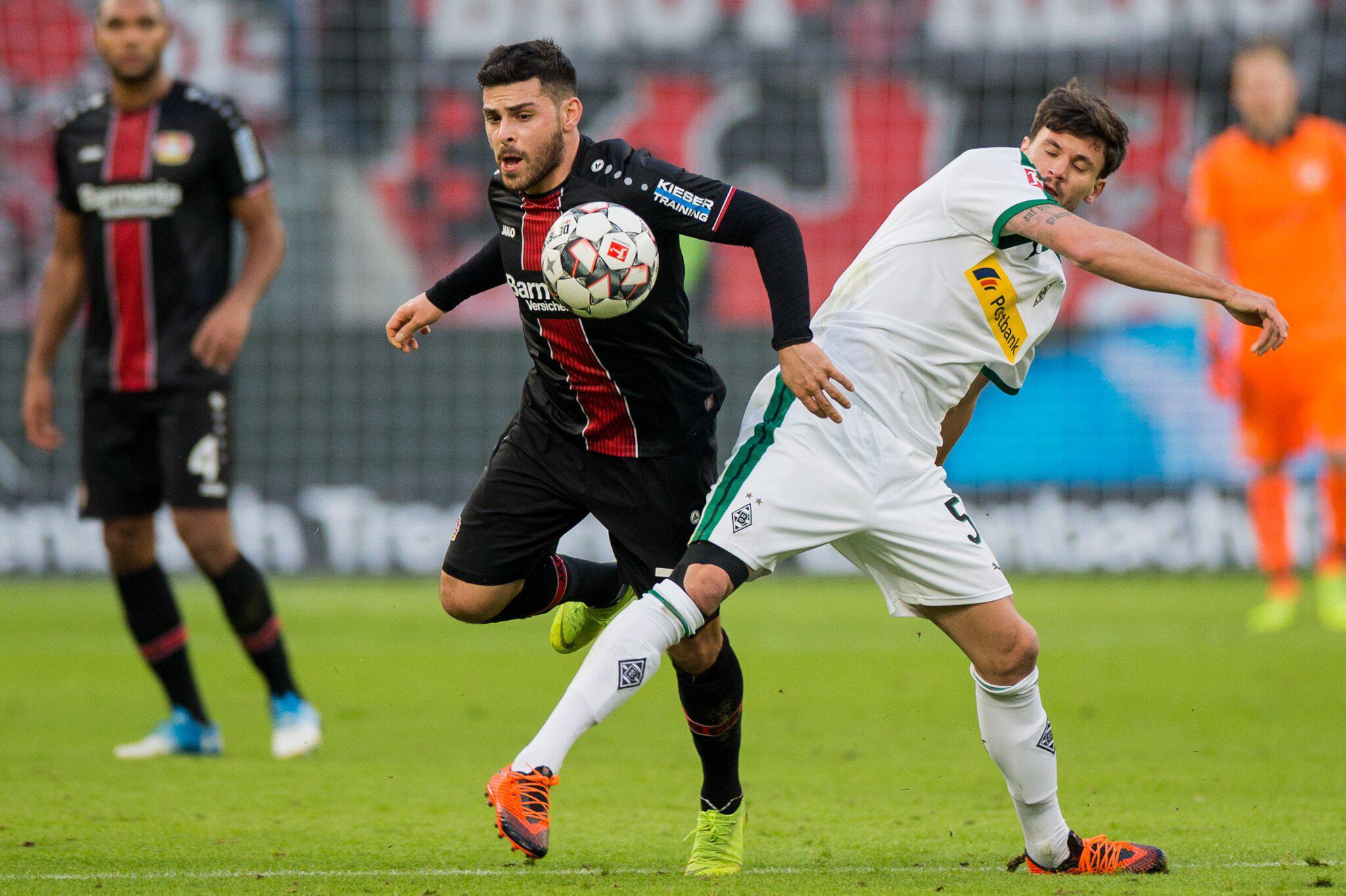 Bild zu Bayer Leverkusen - Borussia Mönchengladbach