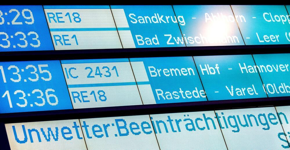 "Sturmtief ""Sabine"" - Oldenburg"