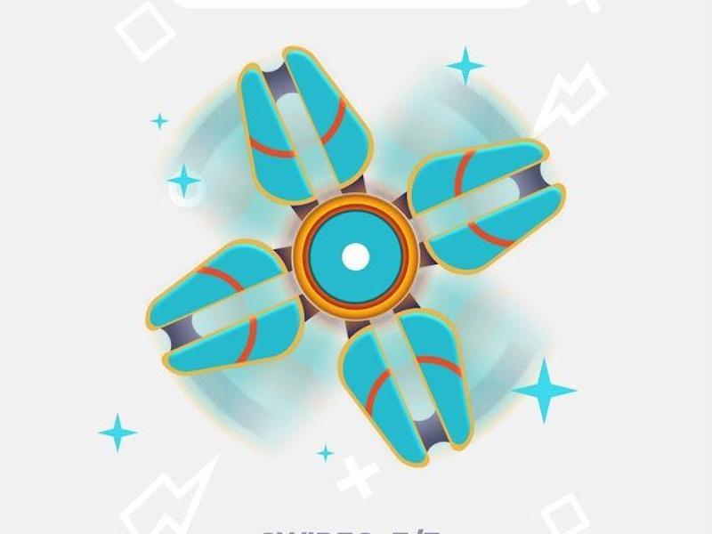Bild zu Fidget Spinner