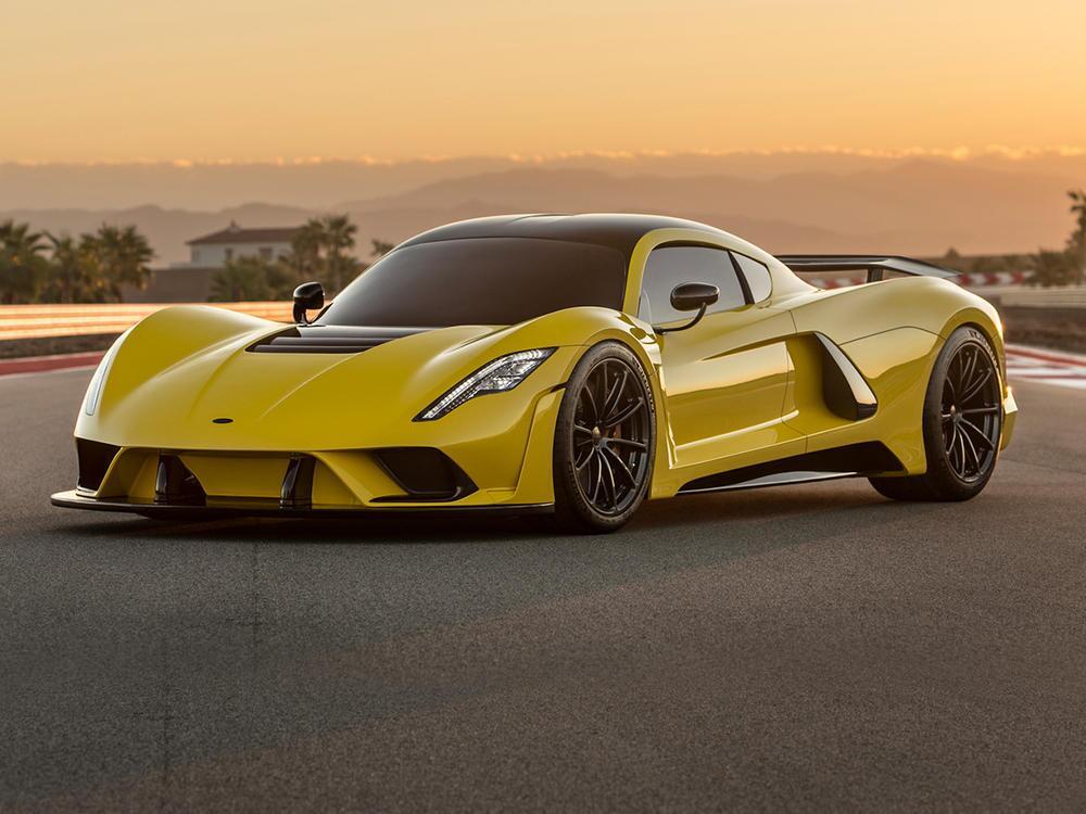 Bild zu Premiere für den Hennessey Venom F5: US-Renner will es mit Bugatti aufnehmen