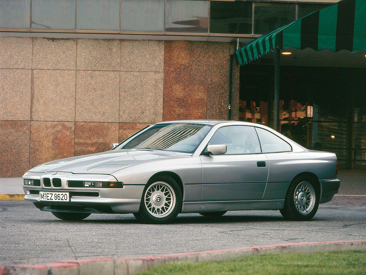Bild zu 25-jähriges Jubiläum: Das fast vergessene Oberklasse-Coupé BMW 8er
