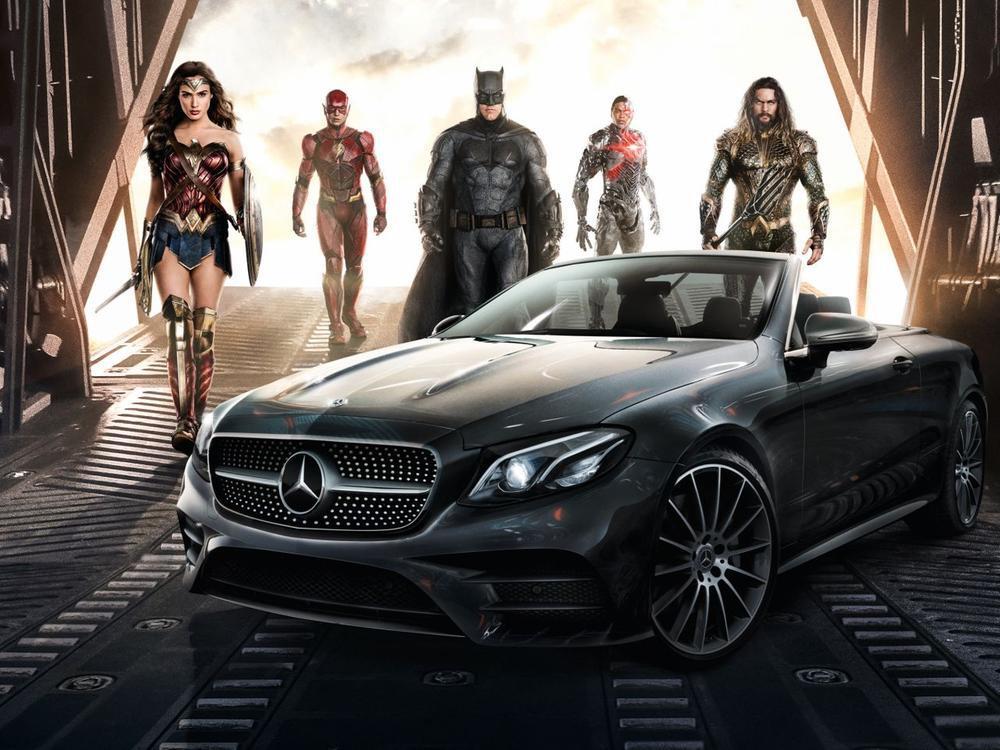 "Bild zu E-Klasse Cabriolet in ""Justice League"""