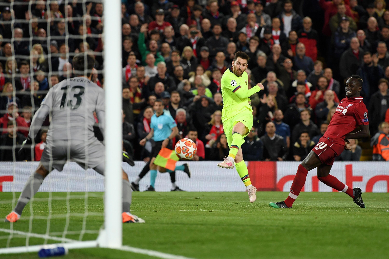 Bild zu FC Liverpool, FC Barcelona, Champions League, Halbfinale, Lionel Messi, Sadio Mané, Alisson Becker