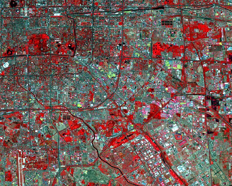 Bild zu Pekinger Stadtteil Fangzhuang 2011