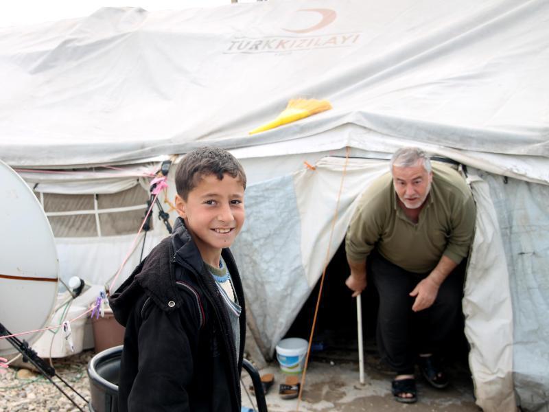 Bild zu Flüchtlingslager in der Türkei