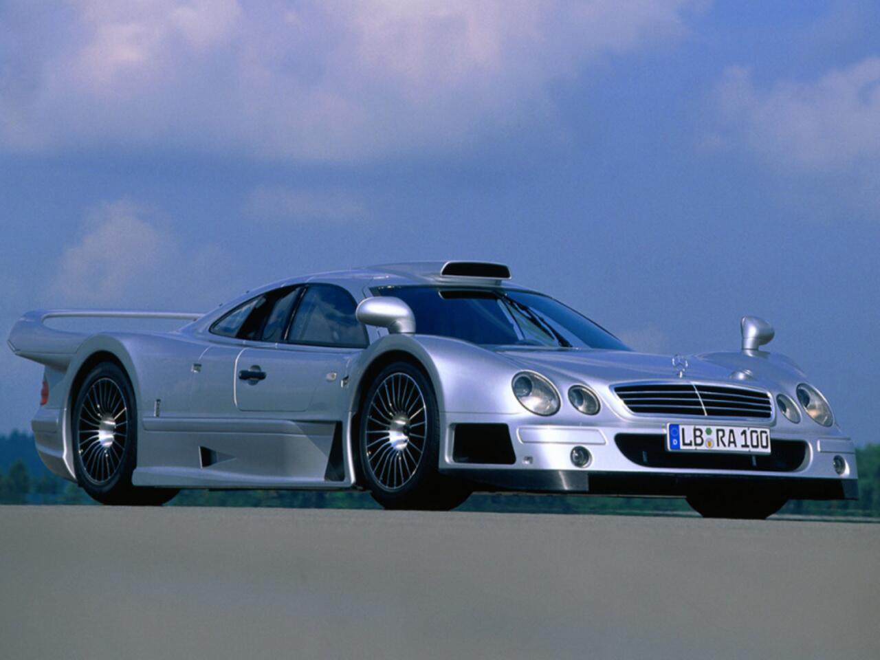 Bild zu Mercedes-Benz CLK GTR