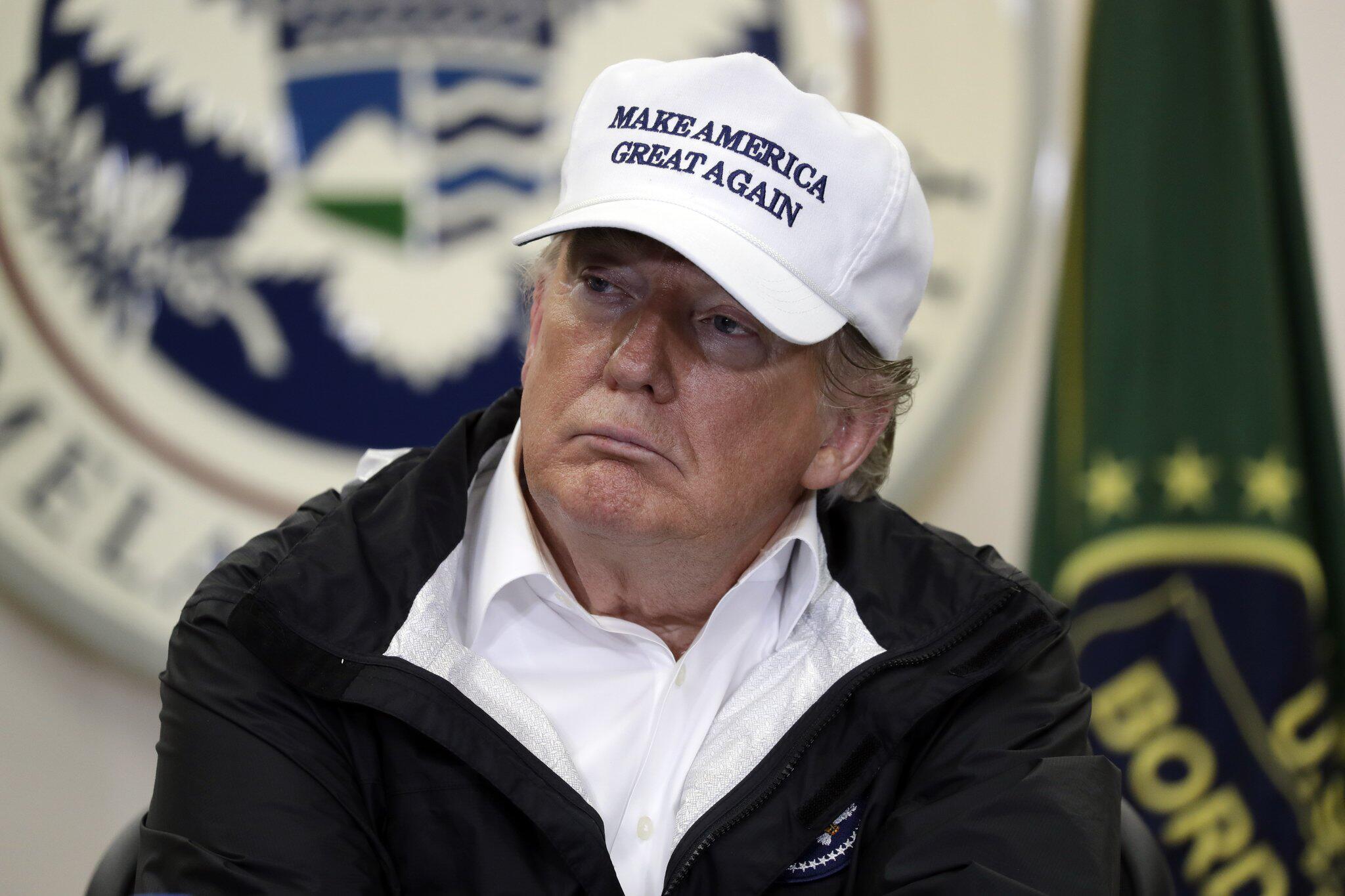 Bild zu US-Präsident Trump reist an die Grenze zu Mexiko