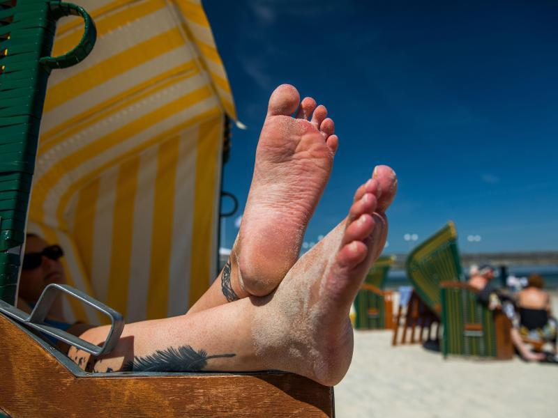 Bild zu Sommerwetter an der Ostsee
