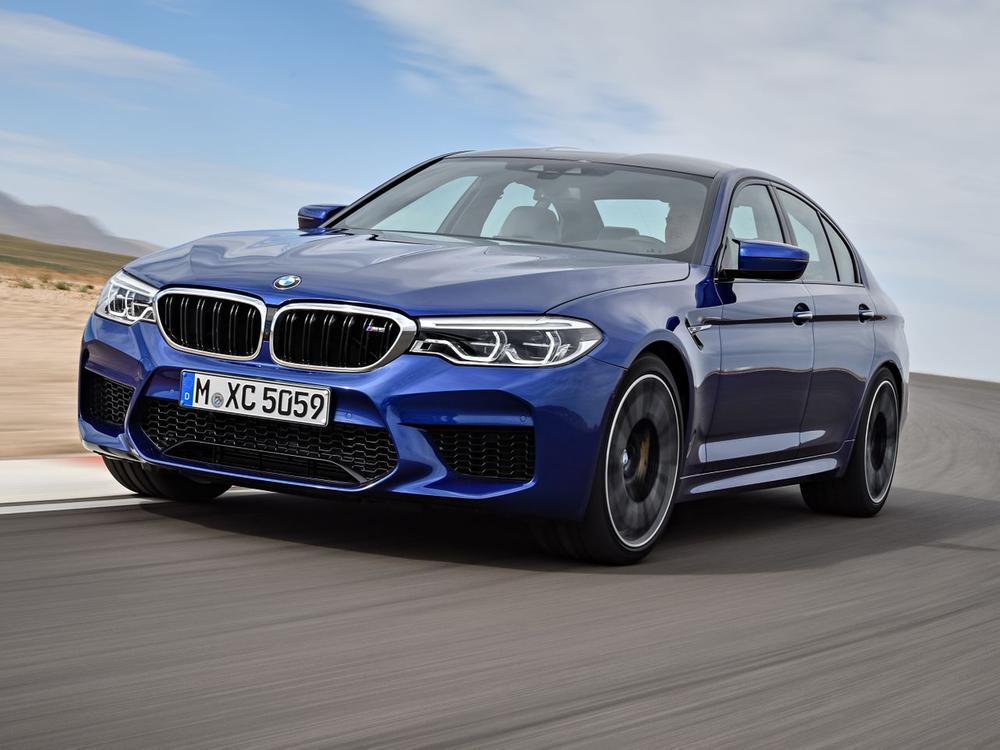 Bild zu Mit 600 PS und Allradantrieb: So kommt der neue BMW M5 ab Frühjahr 2018