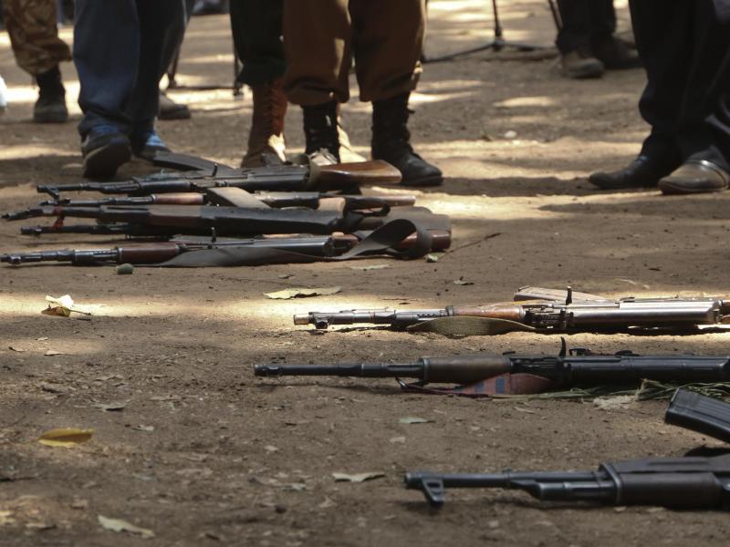 Bild zu Kindersoldaten freigelassen