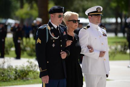 Nach dem Tod von John McCain