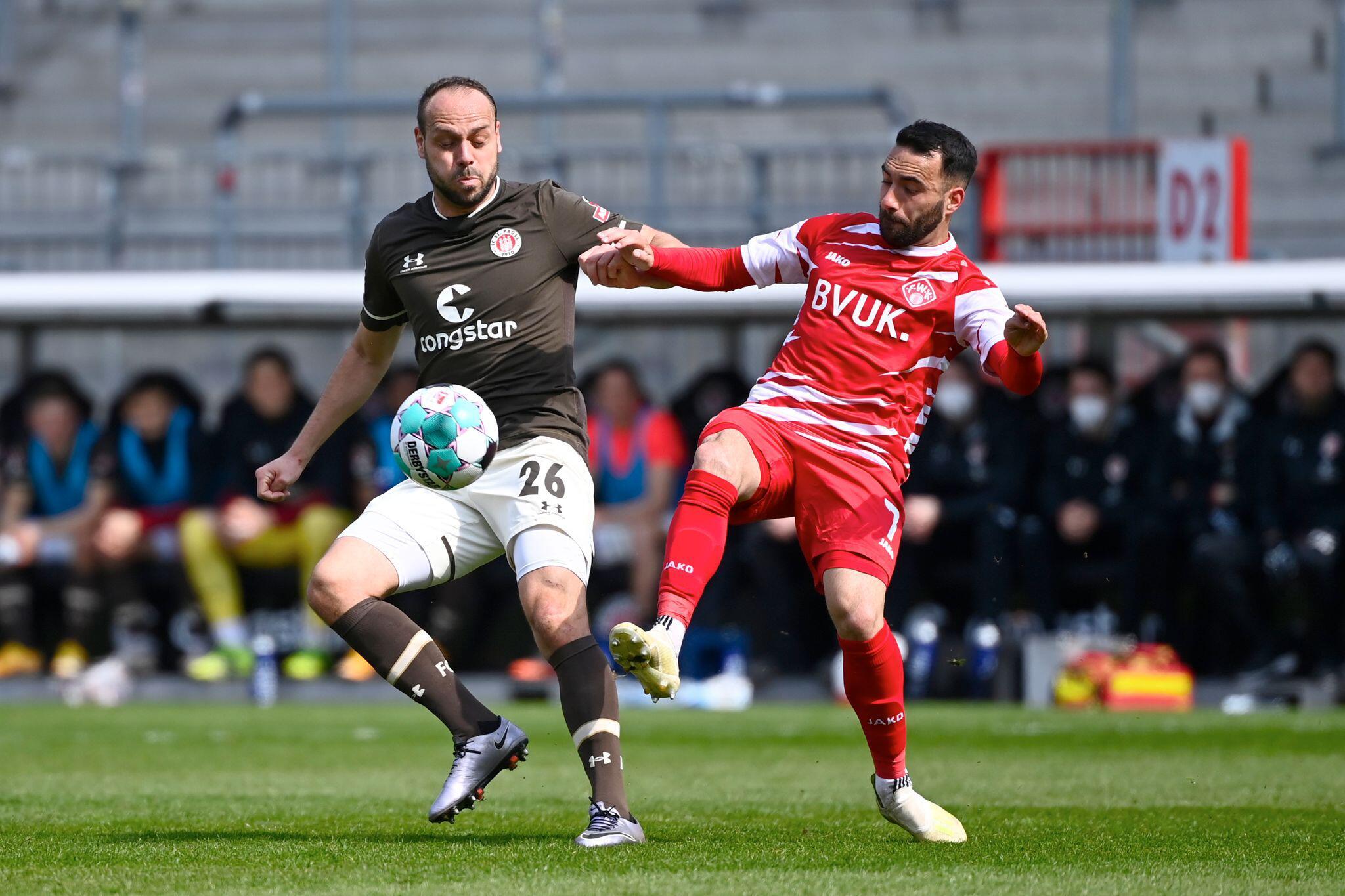 Bild zu FC St. Pauli - FC Würzburger Kickers