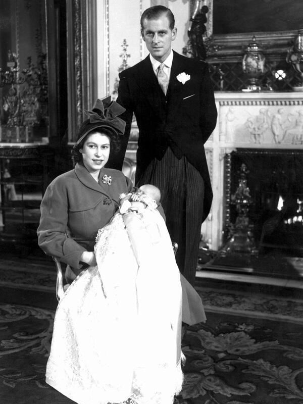 Bild zu Die Taufe von Prinz Charles