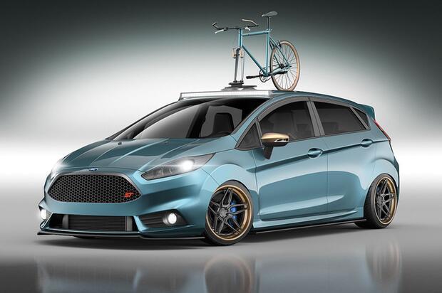 Bild Zu Wildes Sextett Ford Focus Und Fiesta Mit Radikalem SEMA Tuning