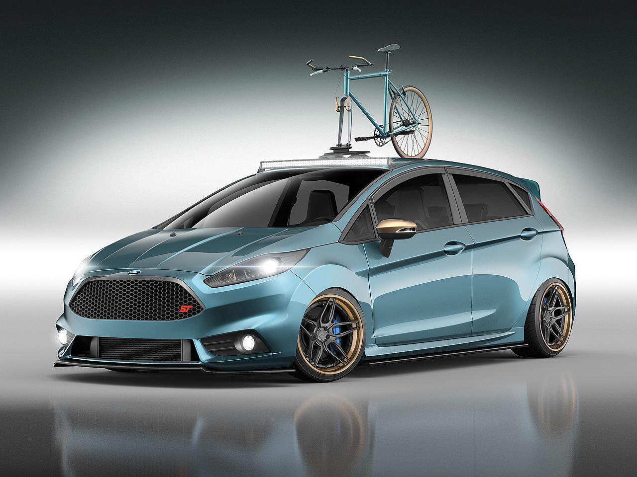 Bild zu Wildes Sextett: Ford Focus und Fiesta mit radikalem SEMA-Tuning
