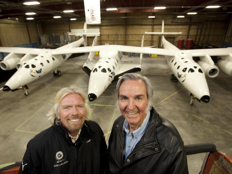 Bild zu Branson und Rutan