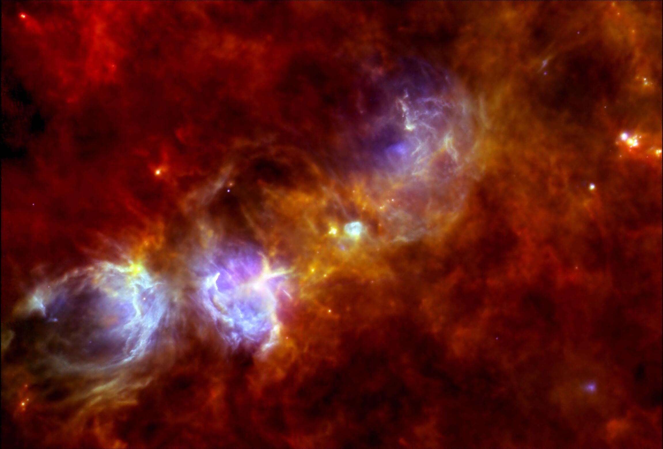 Bild zu Supernova, Herschel