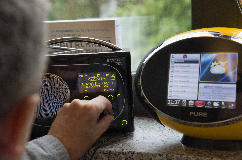 Bild zu Digitalradios