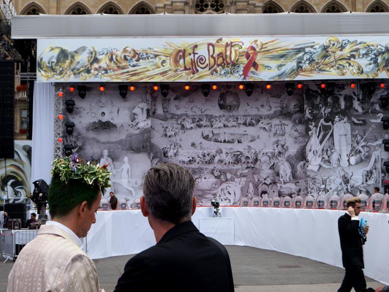 Bild zu Life Ball 2014: Ein Bühnenbild wie aus der Bibel